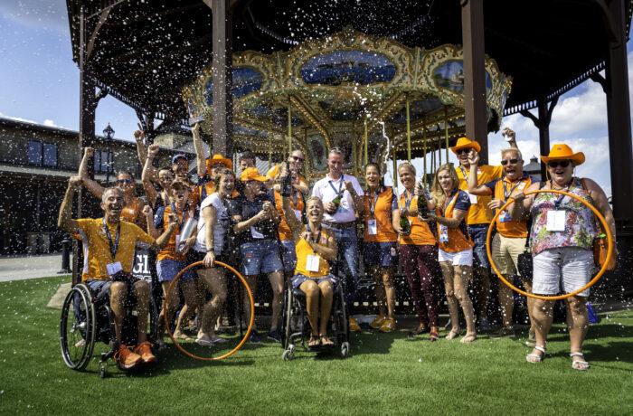 Para- Dressage Team Netherlands (Photo FEI/Arnd Bronkhorst)