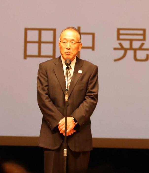 株式会社WOWOW代表取締役社長 田中晃 写真・そうとめよしえ