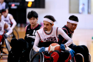橘内率いる神奈川JUNKS大躍進の2018年 〜車いすツインバスケットボール〜