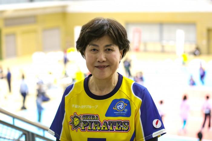 吉田惠子さん。若いメンバーからも刺激を受けているという