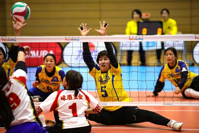 吉田惠子さん。今大会は1年ぶりの復帰戦だった