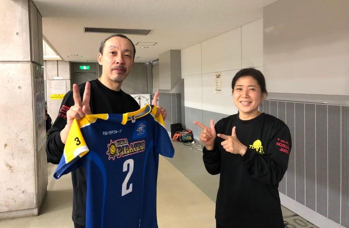『千葉チーム』の代表・佐藤詠さん(左)と総監督の小澤広美さん