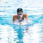1日目、200M個人メドレーS10を泳ぐ池あいり(日体大) 写真提供:日本身体障がい者水泳連盟