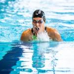 1日目、200M個人メドレーS9を泳ぐ一ノ瀬メイ(日体大) 写真提供:日本身体障がい者水泳連盟