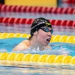 200メートル個人メドレーS11を泳ぐ小野智華子 写真・秋冨哲生