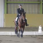 グレードⅡの井上 力(つとむ。東京障害者乗馬協会)&プリンセス・クラリス