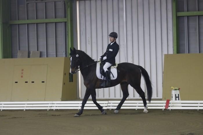 グレードⅢの稲葉 将(静岡乗馬クラブ/シンプレックス)&ピエノ  写真:稲継泰朗