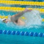 50メートル自由形S4を泳ぐ鈴木孝幸 写真・秋冨哲生
