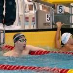 50メートル自由形S9を泳ぎ終えた山田拓朗(NTTドコモ)
