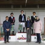インディビジュアルテスト、グレードⅣ表彰式:高嶋活士・常石勝義・大塚宗毅