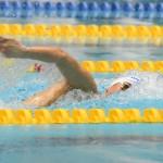 100メートル自由形S8を泳ぎ日本新記録をマークした窪田幸太(日体大) 写真・吉村もと