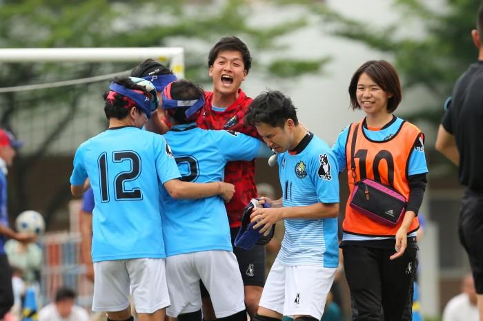 free bird mejirodaiが初の決勝戦へ進出。第18回 アクサ ブレイブカップ ブラインドサッカー日本選手権 予選ラウンド1東京
