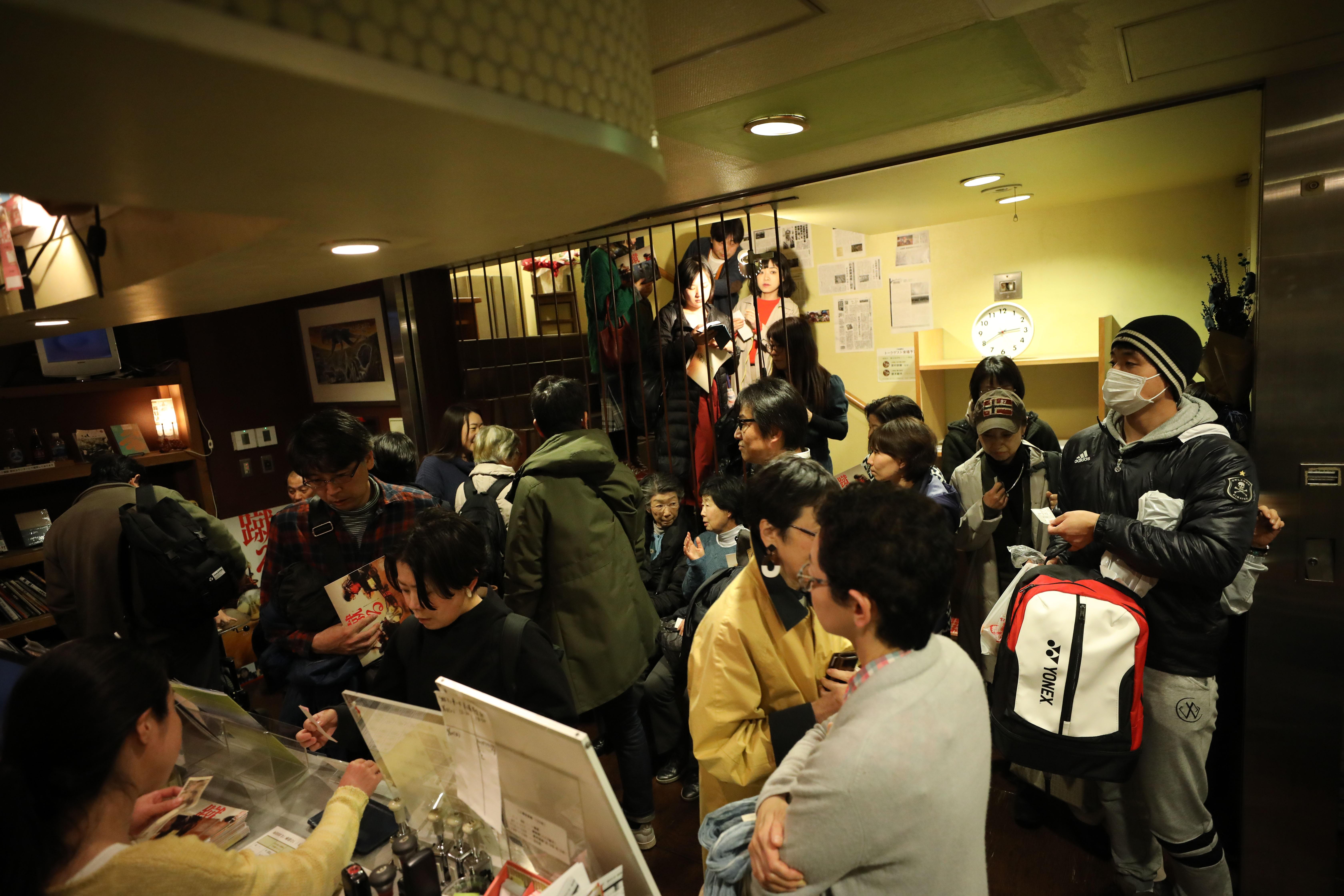 3月23日、映画公開初日の様子 写真・松本力