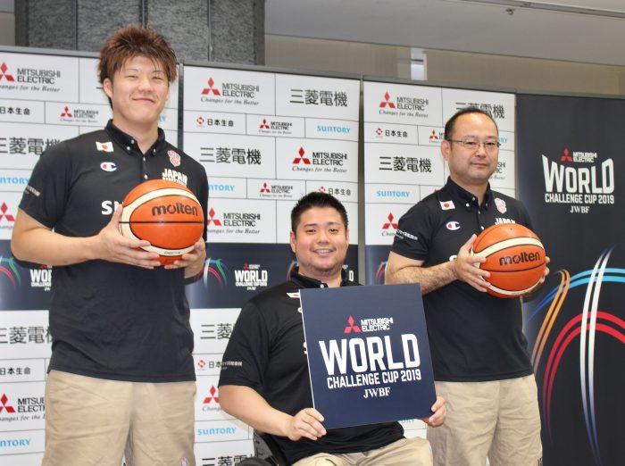 三菱電機 WORLD CHALLENGE CUP 2019が8月に開幕。車いすバスケットボール世界トップチームが東京に集結!