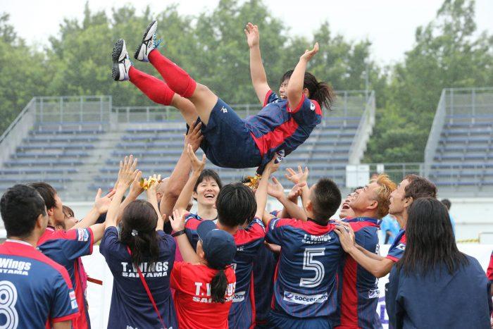 ブラインドサッカー:菊島宙が7得点! 埼玉T.Wingsが令和初のブラサカ王者に輝く