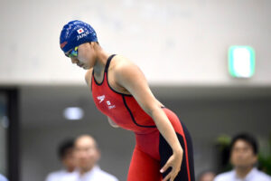 パラ水泳強化指定選手が兵庫県水泳選手権に出場。パラリンピック1年前、強化と普及の状況。