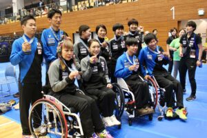 国内初のパラ卓球国際大会で、世界のアスリートが集結!