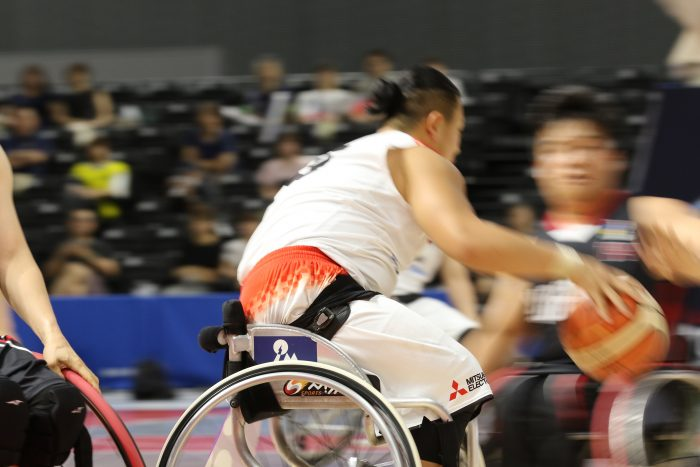 車いすバスケ日本代表が韓国に快勝! 「三菱電機 WORLD CHALLENGE CUP 2019」開幕