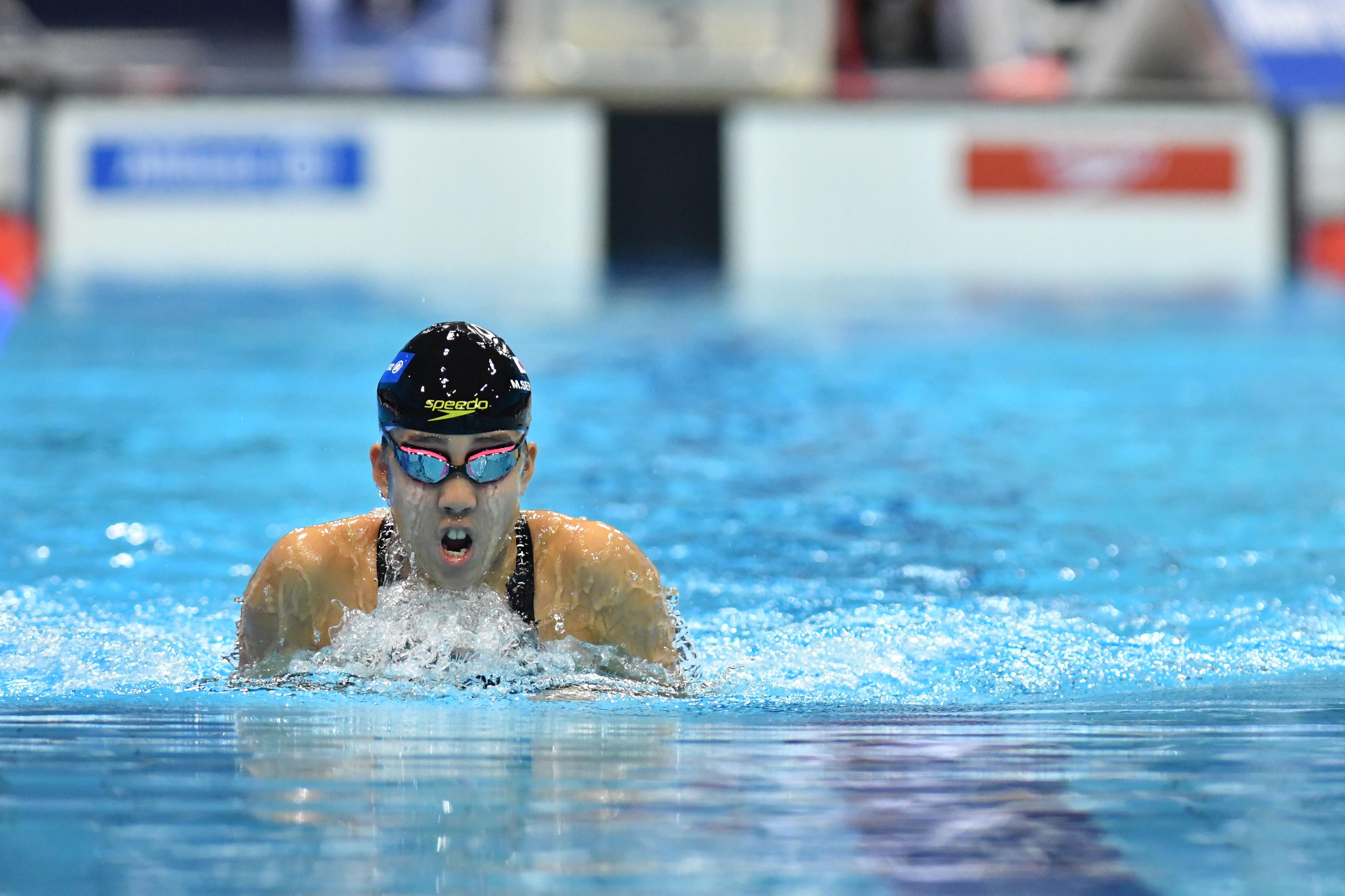 SERIZAWA Mikika (JPN) Women's 100m Breaststroke SB14 London 2019 World Para Swimming