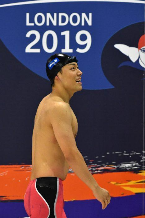 YAMAGUCHI Naohide (JPN) Men's 100m Breaststroke SB14 / Final Gold Medal / London 2019 World Para Swimming