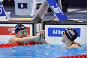 TSUJIUCHI Ayano (JPN) Women's 100m Breaststroke SB13 / Final Bronze Medal /  London 2019 World Para Swimming