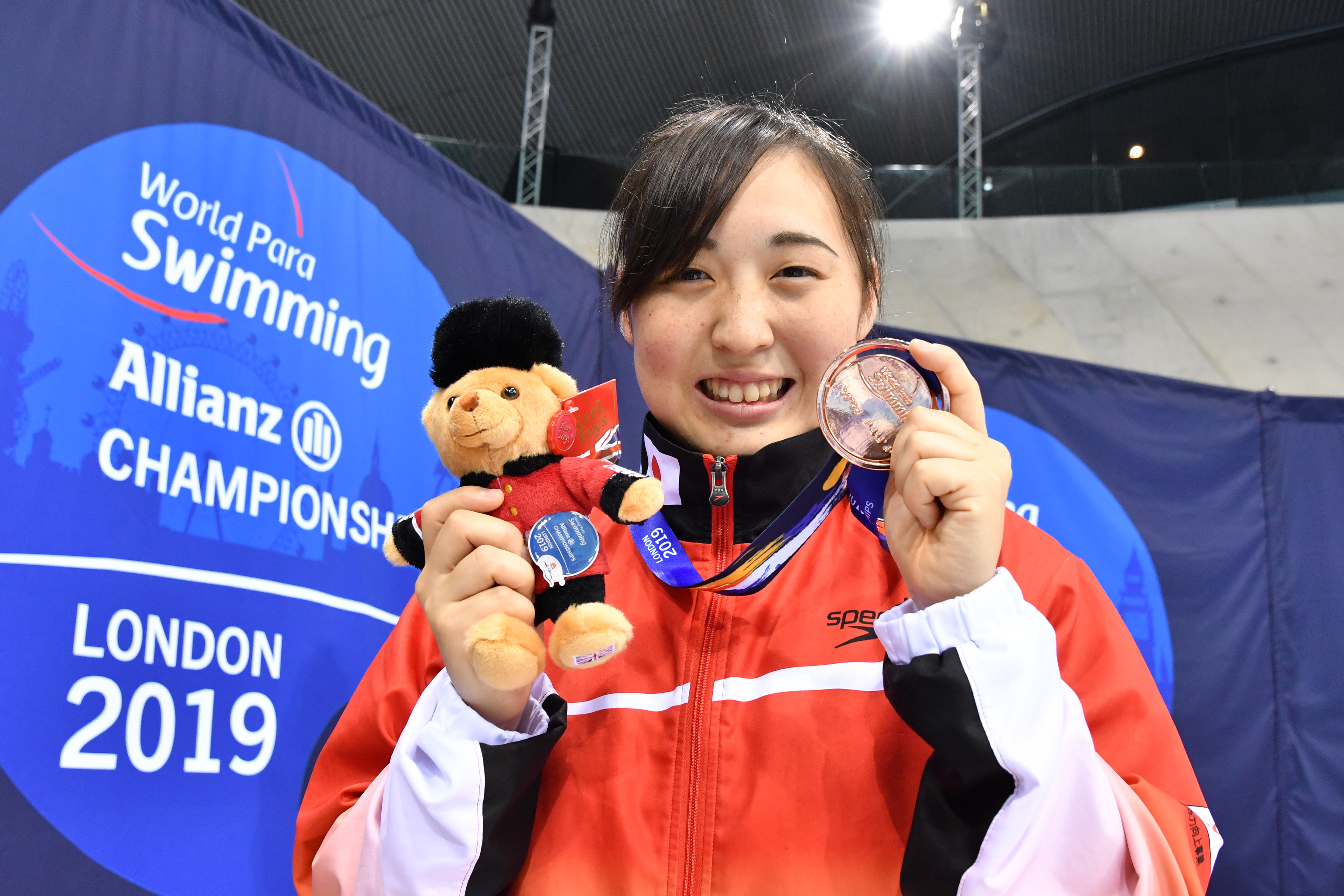 TSUJIUCHI Ayano (JPN) Women's 100m Breaststroke SB13 / Bronze Medal / London 2019 World Para Swimming