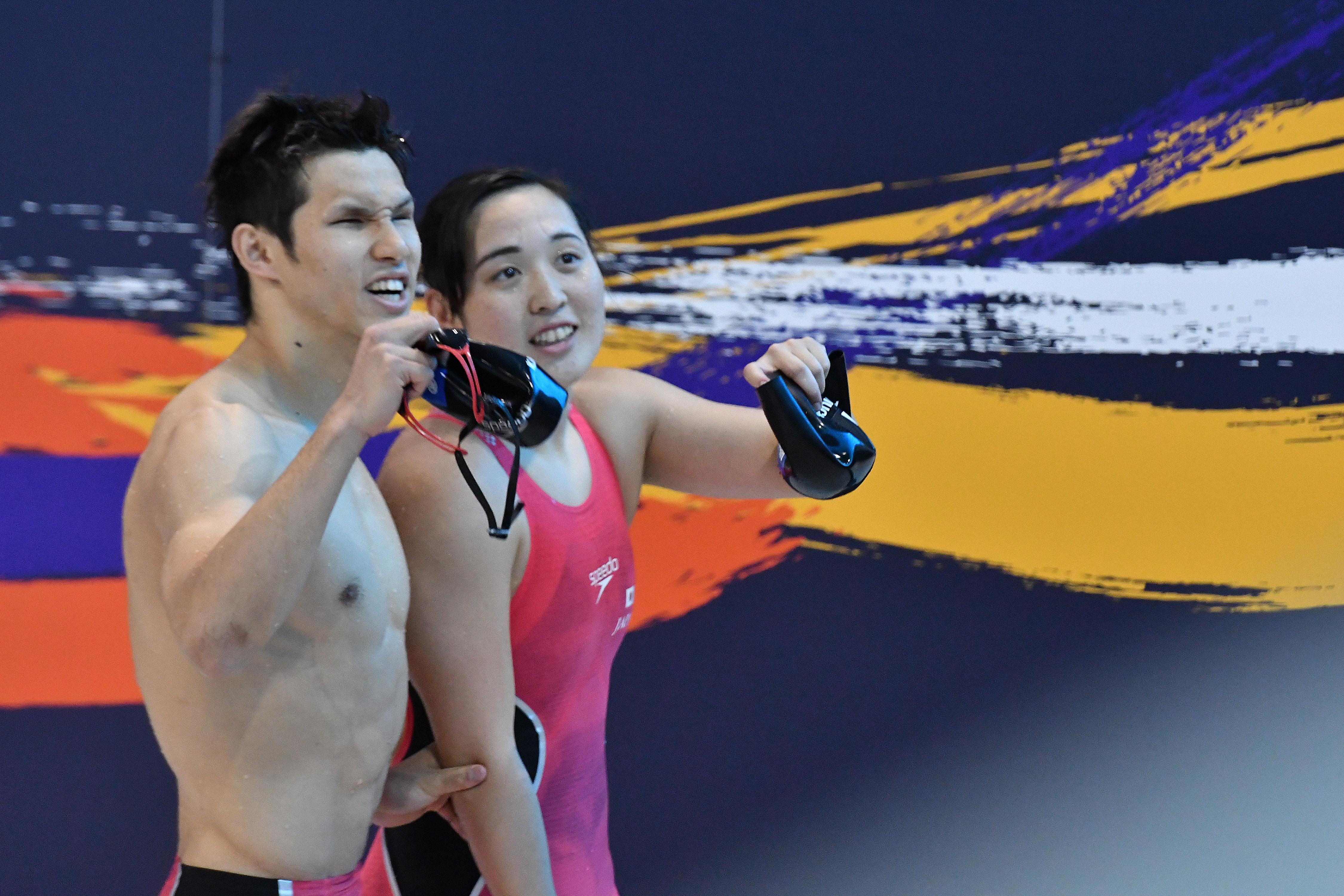 TSUJIUCHI & KIMURA (JPN) MIXED 4x100m Freestyle Relay 49PTS