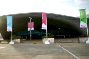 ロンドンアクアティクスセンター外観