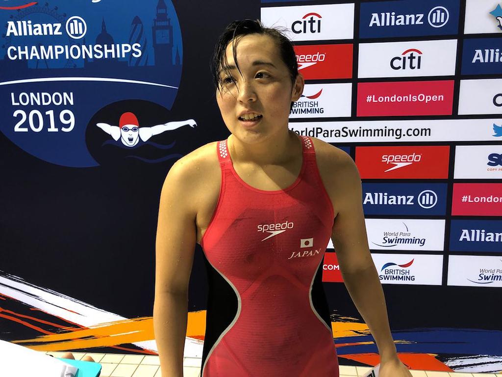 【図解・辻内彩野】勝負のカギは「入水角度」にあり ~London2019パラ水泳世界選手権 DAY3~