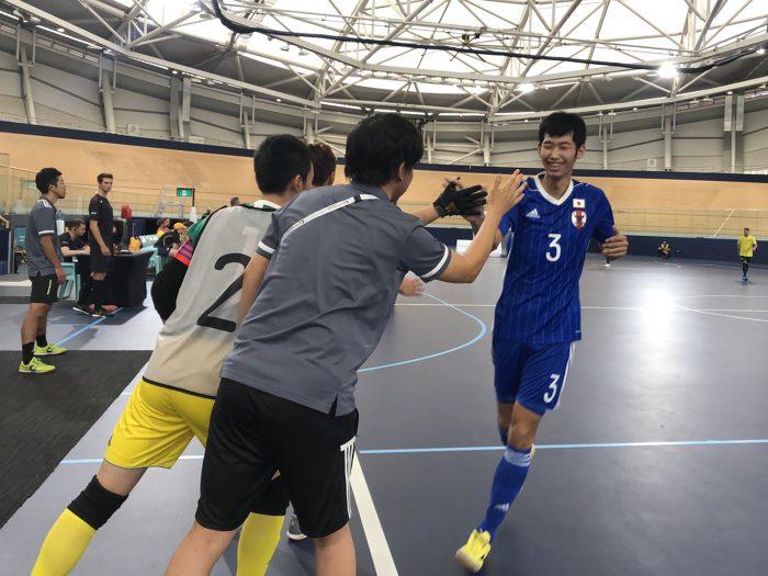 知的障害フットサル日本代表佐藤、吉川のハットトリックで大会初勝利。ブリスベン2019INASグローバルゲームズ
