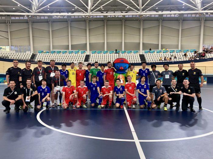 知的障害フットサル日本代表の最終戦2-4でロシアに敗れる。ブリスベン2019INASグローバルゲームズ
