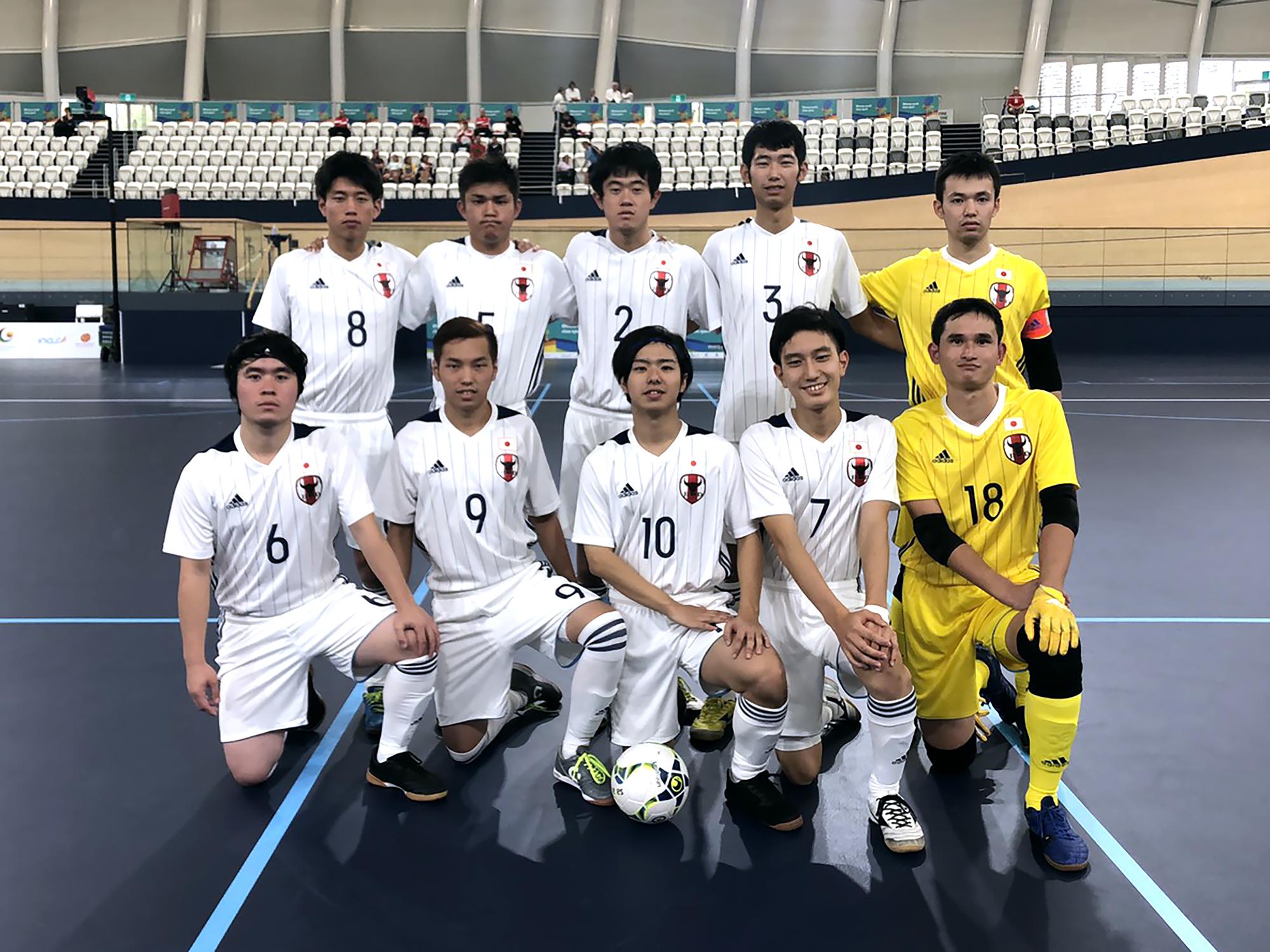知的障害フットサル日本代表初戦ポルトガルに完敗。ブリスベン2019 INASグローバルゲームズ