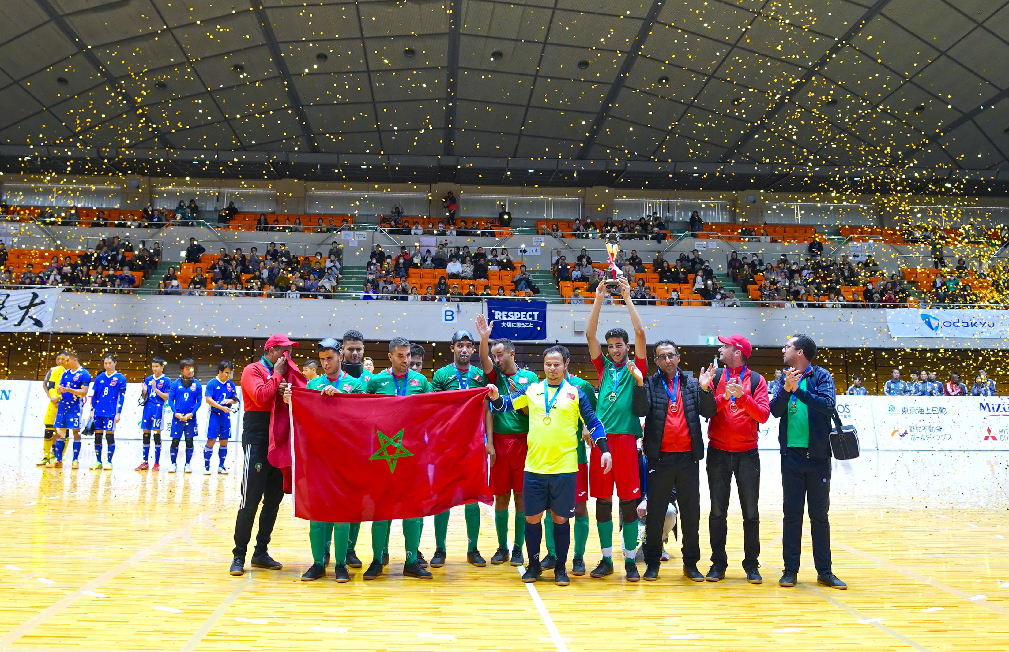 5−1でモロッコが圧勝!〜ブラインドサッカー チャレンジカップ2019〜