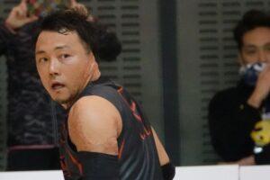 池透暢(Freedom/3.0)。「勝利も大事だが、日本選手権は選手全員がチャンスを与えられる場にしたい」 写真・久下真以子