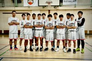 神奈川県立横浜緑ケ丘高校に集まった、日本代表強化選手