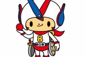 公式キャラクター ボッチャマン/日本ボッチャ協会提供