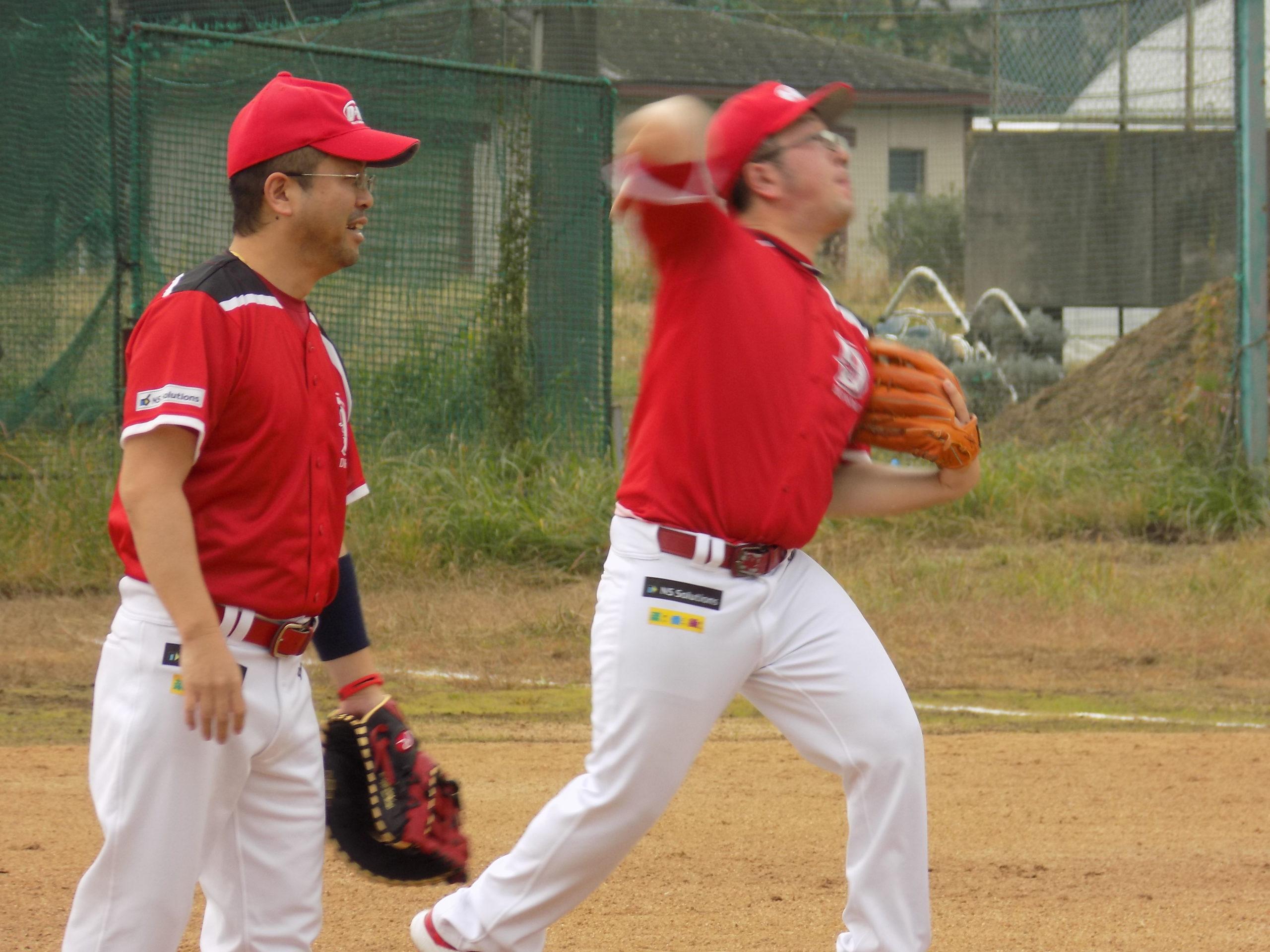 三浦敏朗投手の投球フォーム