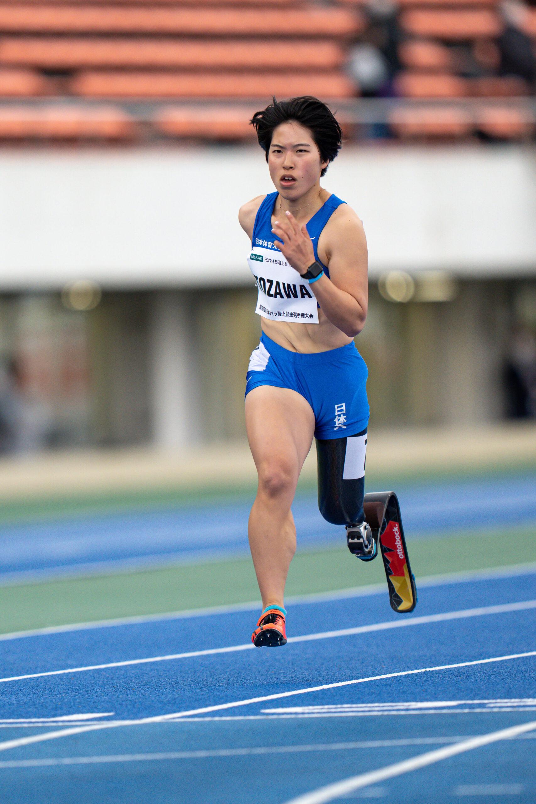 100mt63を走る走る兎澤