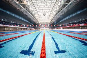 東京2020パラリンピック水泳日本代表選考会が開催された横浜国際プール 写真・秋冨哲生