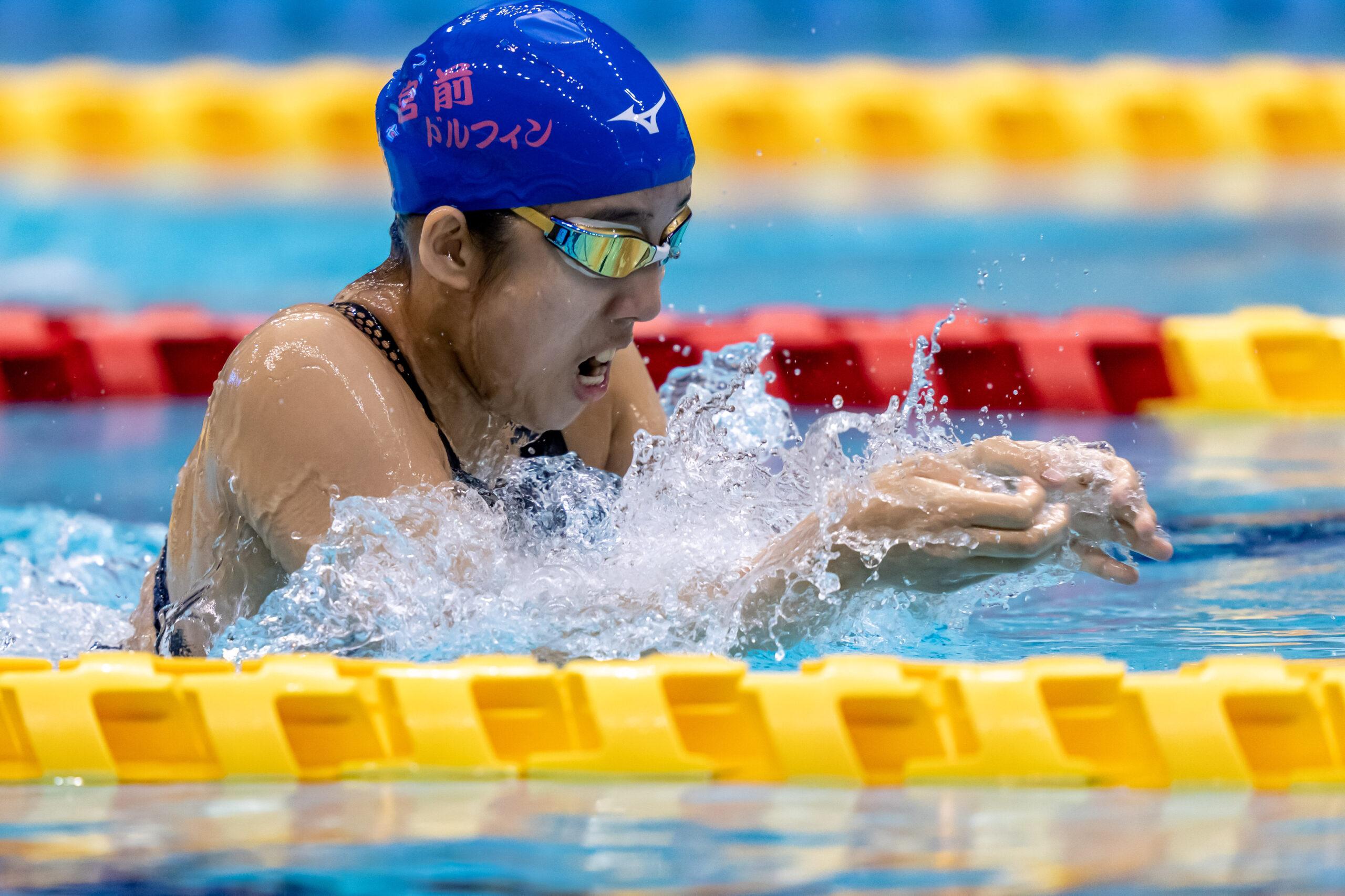 芹澤美希香、平泳ぎ
