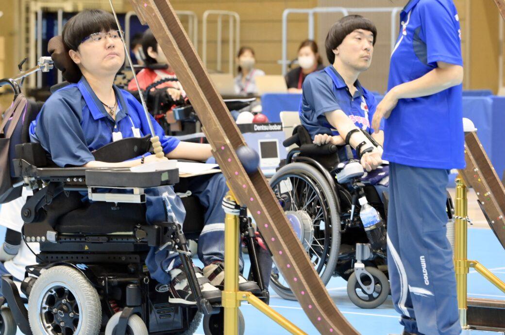 ボッチャ 「火ノ玉ジャパン」 実り多き壮行試合