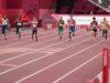8月30日、男子100mT44,62,64クラスのレース 写真・吉村もと