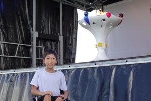 未来のパラアスリートに夢をつなぐ。千葉県で聖火リレーの集火式が開催!