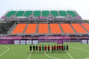 国家斉唱も事前にシミュレーション。ブラインドサッカー日本代表、いよいよキックオフ