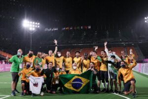 ブラインドサッカーブラジル5連覇 アルゼンチンは金に届かず