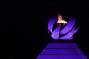 東京パラリンピック聖火がWe The 15のテーマカラーに 写真・中村 Manto 真人