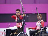 "Tokyo 2020 Paralympics ""Archery"" Mixed Team Recurve #0904"